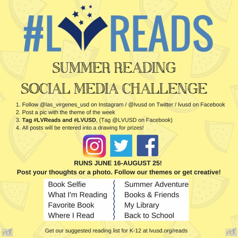 LV Reads Social Media Challenge