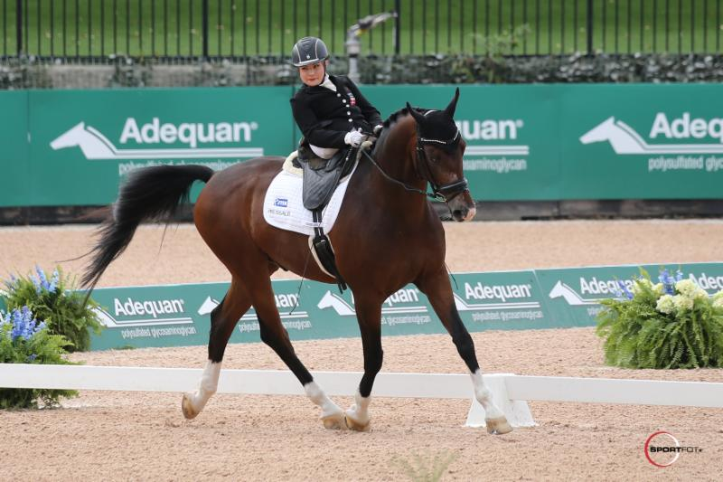 Tryon 2018: Stinna Steals the Show as Adequan Para-Dressage Makes Its Entry