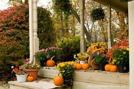 Thanksgiving Front Porch