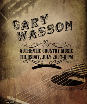 Gary Wasson Authentic Country