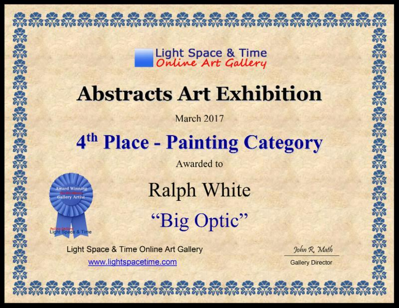 4th Place Award - Painting Category