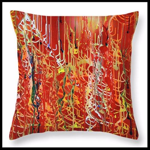 Rib Cage throw pillow