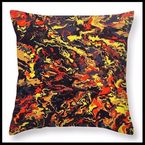 Mindful throw pillow