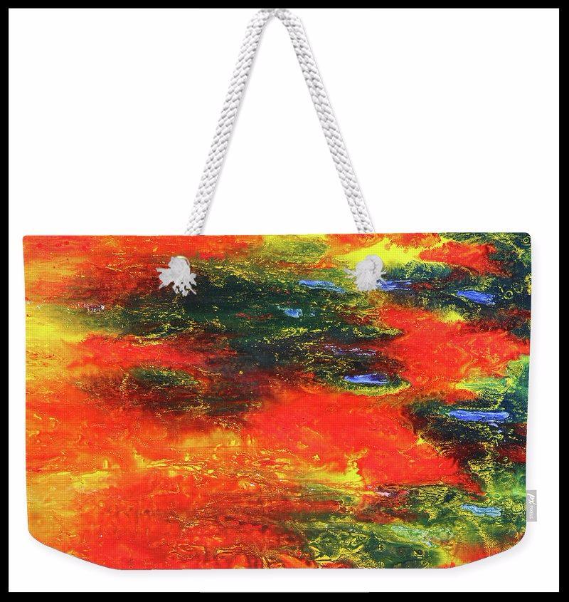 Vindicate Weekender Tote Bag