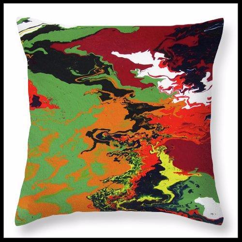 Mauna Loa throw pillow
