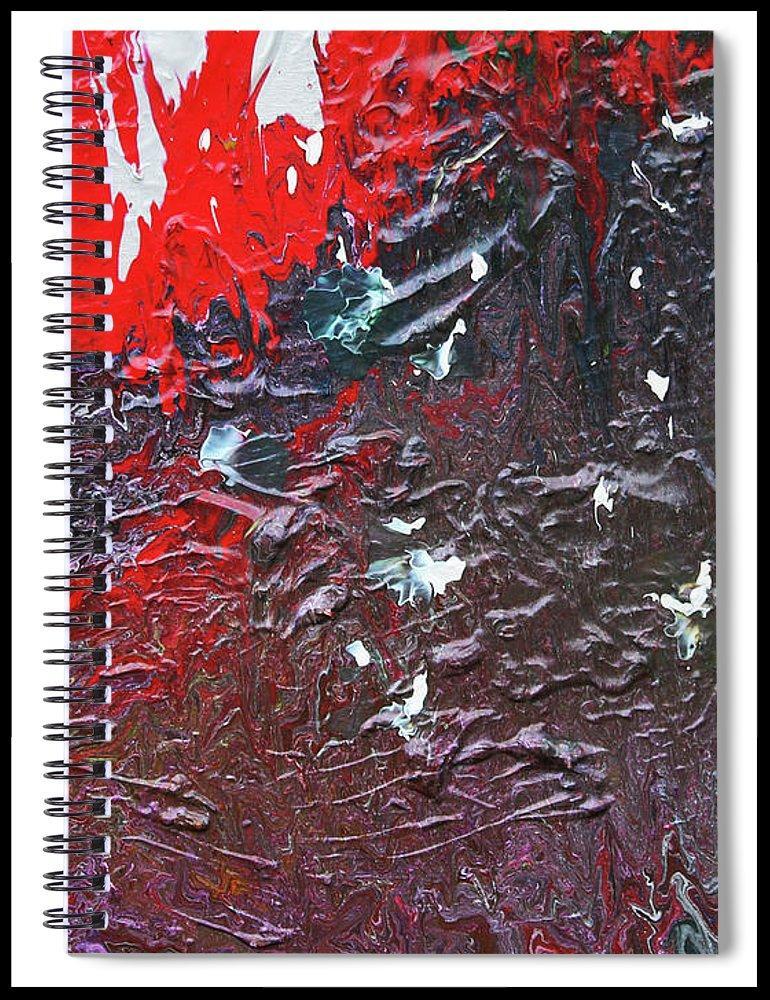 Rampage spiral notebook
