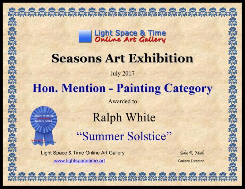 Hon. Mention for Summer Solstice