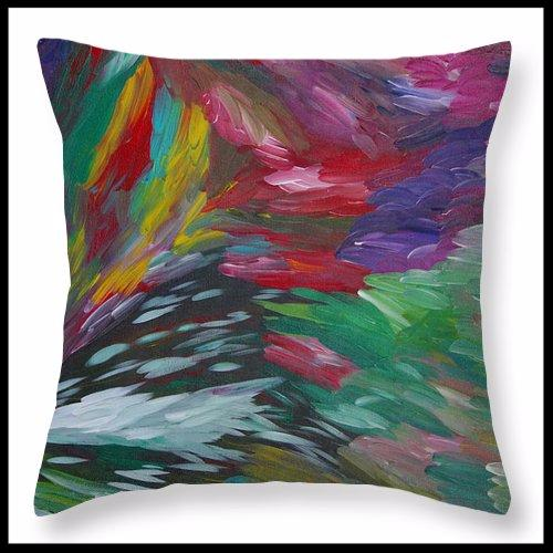 Explosion - Throw Pillow