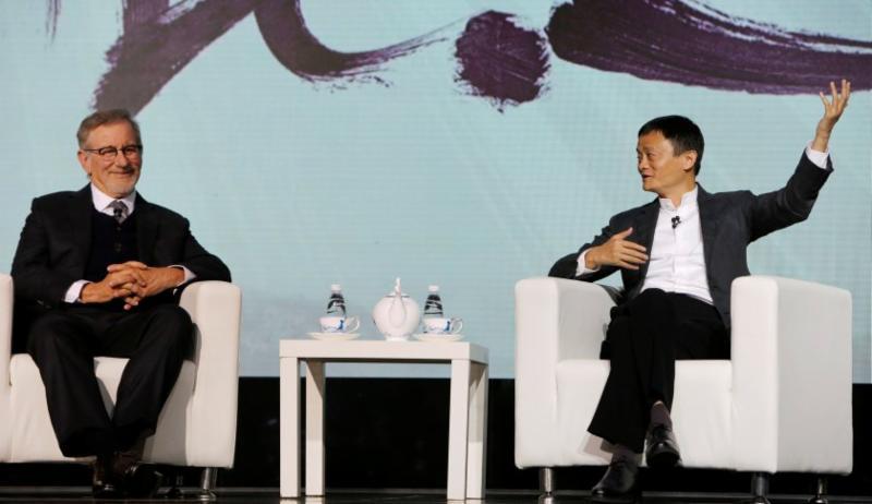 Jack Ma, Spielberg