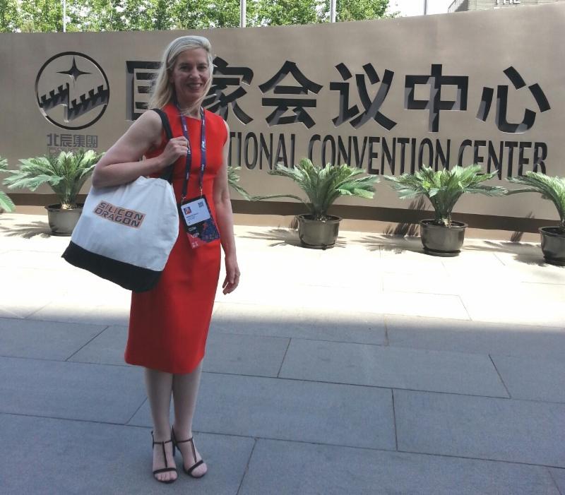 Rebecca in Beijing