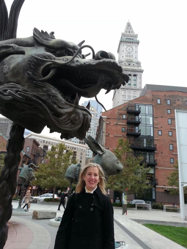 Ai Wei Wei, in Boston