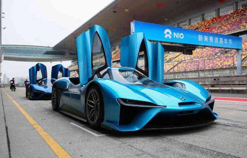 EV fast-car Nio