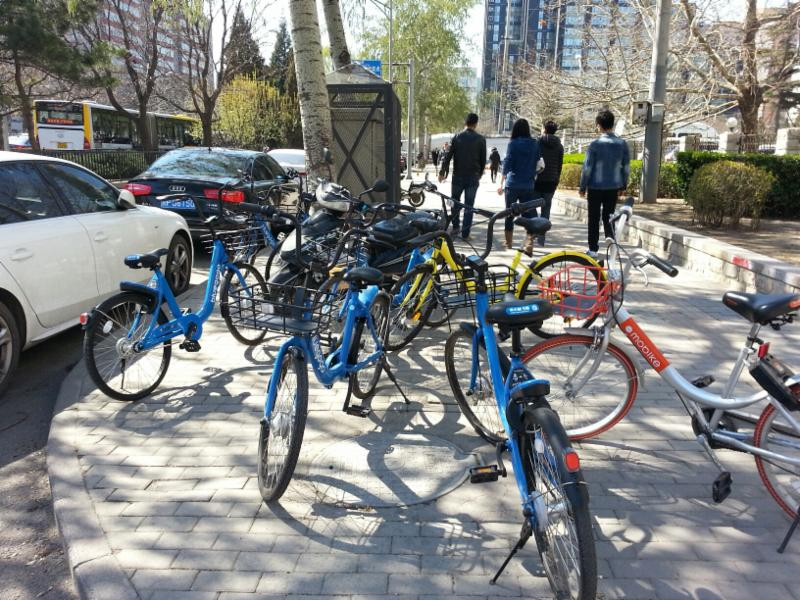 bike-sharing in Beijing