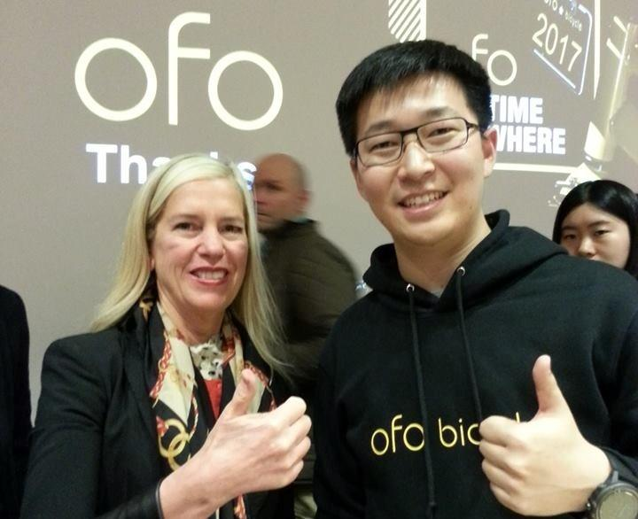 Ofo co-founder