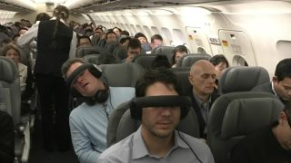 VR on planes