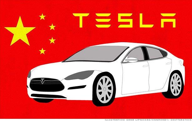 Tencent in Tesla