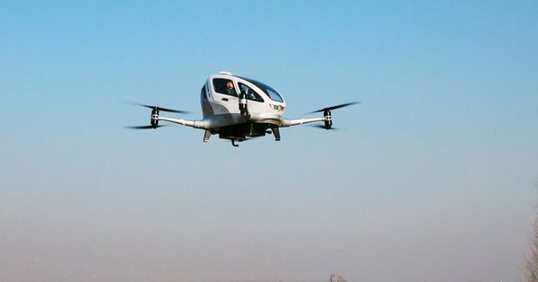 Ehang passenger drone