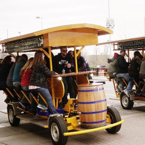 The HandleBar Toledo tour
