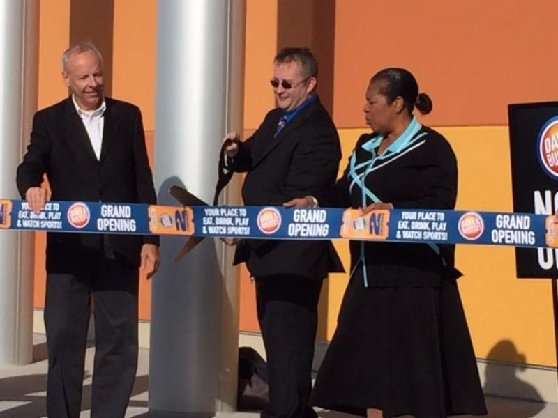 Dave and Buster_s Ribbon Cutting