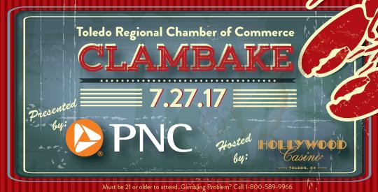 Toledo Regional Chamber of Commerce Clambake_ 7.27.17