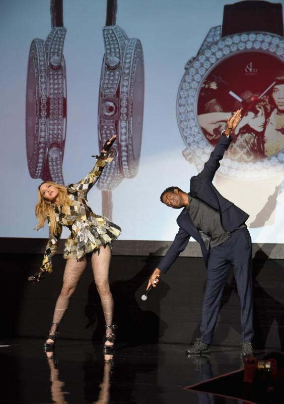 Madonna's evening of music, art, mischief and performance
