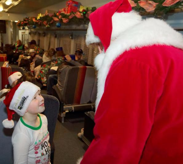 COLUMBUS DAY SALE!!! THIS WEEKEND! - Polar Express Train Ride in Blackstone Valley