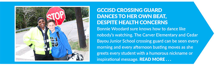 GCCISD Crossing Guard Dances To Her Own Beat_ Despite Health Concerns
