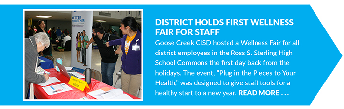 District Holds First Wellness Fair for Staff