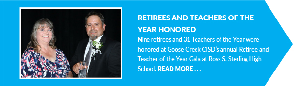 Retirees and Teachers of the Year Honored