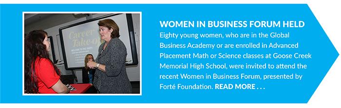 Women in Business Forum Held