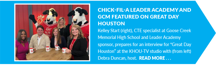 Chick-fil-A Leader Academy and GCM Featured on Great Day Houston