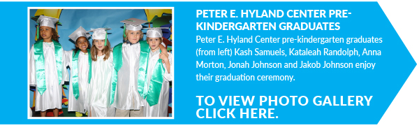 Peter E. Hyland Center Pre-kindergarten Graduates