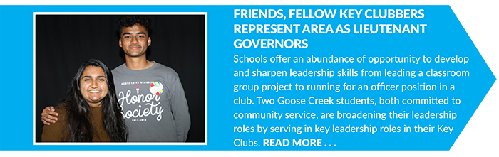 Friends_ Fellow Key Clubbers Represent Area As Lieutenant Governors
