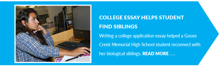 College Essay Helps Student  Find Siblings