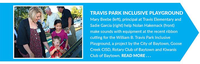 William B. Travis Park Inclusive Playground