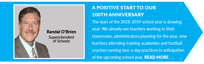 A Positive Start to Our  100th Anniversary