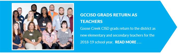 GCCISD Grads Return as Teachers