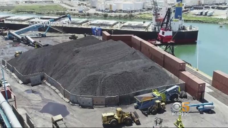 Richmond coal terminal