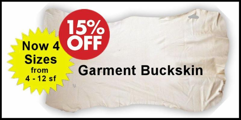 Garment Buckskin Sale