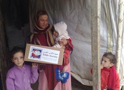 Lebanon Distribution to refugees