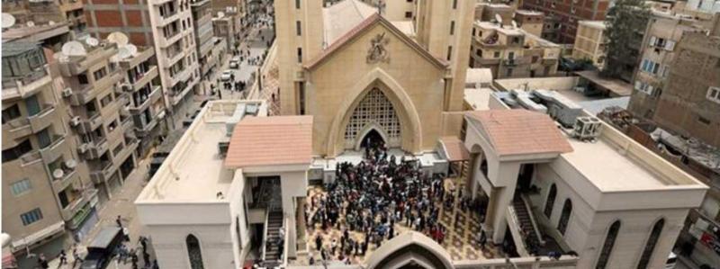 Christian under attack in Egypt.JPG