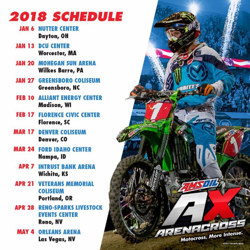 2018 amateur motocross