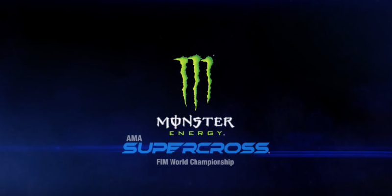 New Logo for Monster Energy Supercross