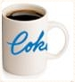 Coffee with Coker Mug