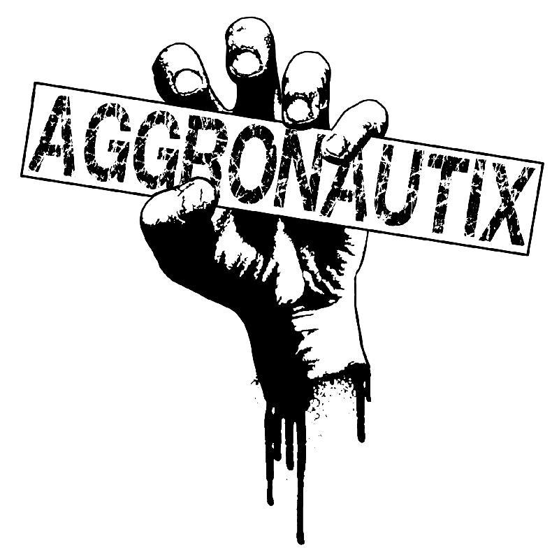 Aggronautix (Logo - White)