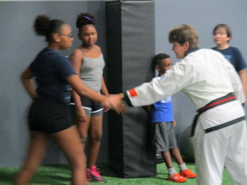 kids self defense