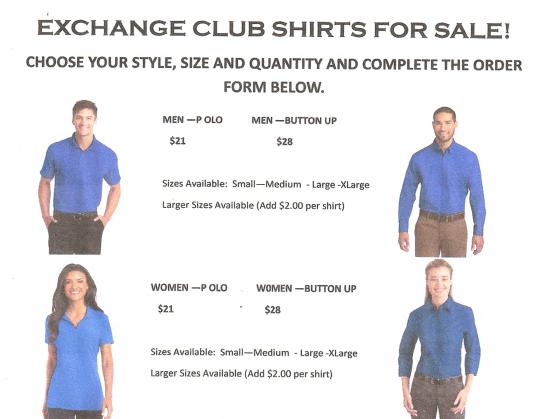 Shirt Order Form Illus