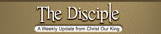 The Disciple Header