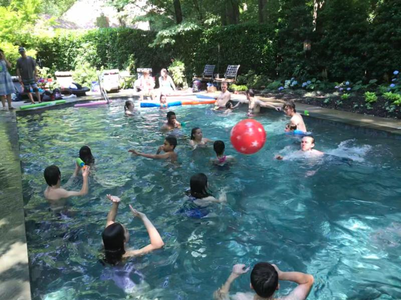 Youth Pool Party July 2018