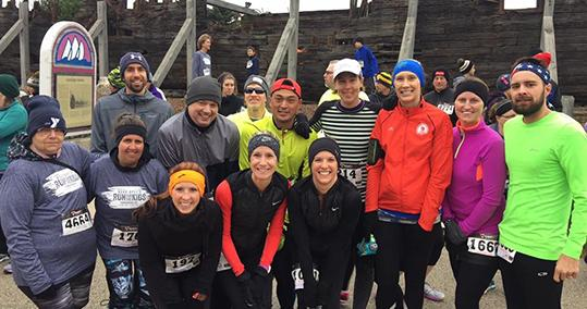 Members of the Sheboygan County Shoreline Striders